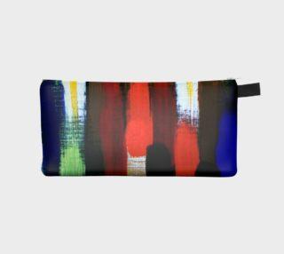 Paint Brushstrokes Pencil Case preview