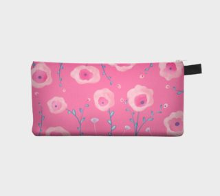 Watercolor Flowers Pencil Case preview