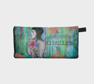 Beautiful Rebellion Zippered Pouch preview