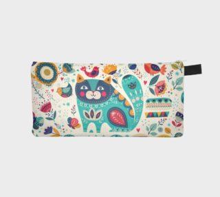 Cute Cat Pencil Case preview