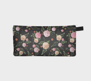 Black Floral Pencil Case preview