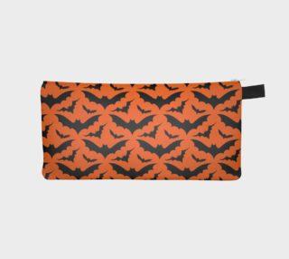 Orange Bats Pencil Case preview
