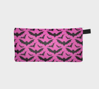 Pink Bat Pencil Case preview