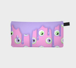 Pink Drippy Eye Pencil Case preview