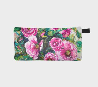 Wild Roses for You pencil case preview
