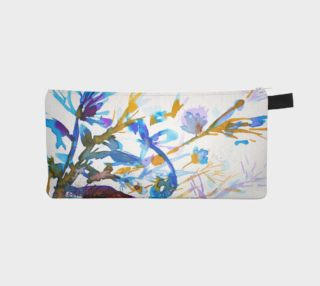 Blue Sea Weeds pencil case preview