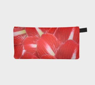 Girly Red White Amaryllis Floral preview