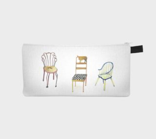 5 Chairs and 1 Tac pencil case by Nadina Tandy preview