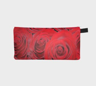 Romantic Red Roses Floral Design Case preview