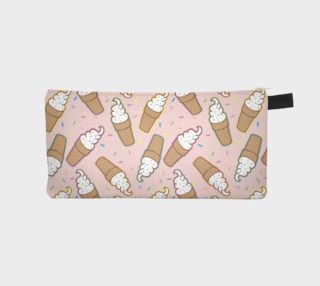Ice Cream Pencil Case Pink preview