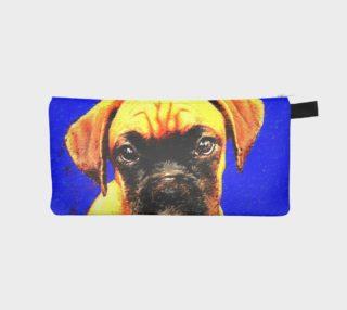Boxer Dog Pencil Case preview