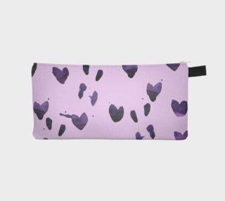 Aperçu de Purple bleeding hearts pencil case