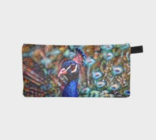 Petaled Peacock Pencil Case preview
