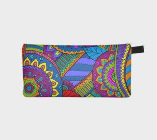 Fantasy Paisley Ornaments Pattern multicolored preview