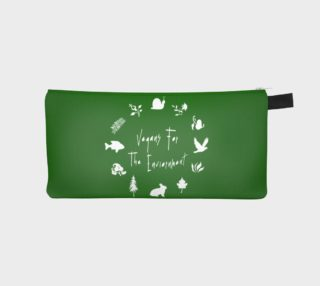 Aperçu de Vegans for the Environment Pencil Case