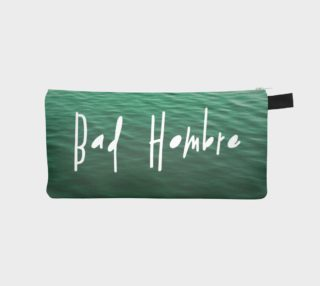 Aperçu de Bad Hombre Pencil Case Green