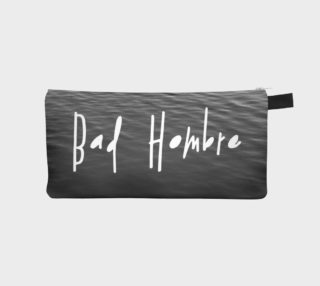 Aperçu de Bad Hombre Pencil Case Grey