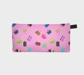 Purses, Polka Dots and Pink Background     aperçu