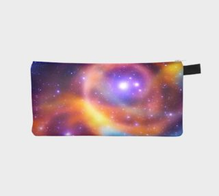 Galaxy Array of Stars and Gases Pencil Case aperçu
