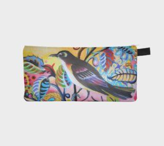 Bohemian Songbird Pencil Case aperçu