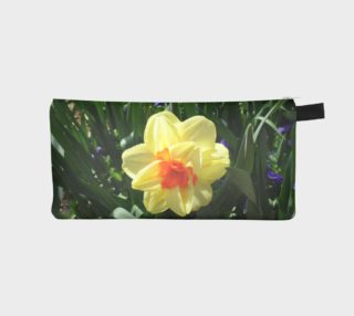 Yellow Daffodil Flower Pencil Case preview