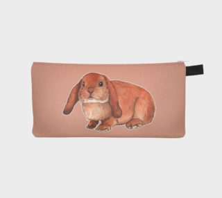 Red rabbit ram Pencil Case preview