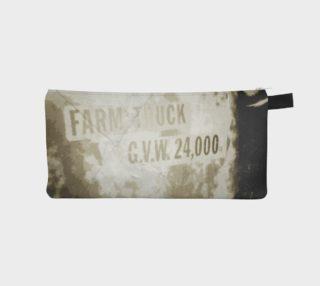 Aperçu de Vintage Farm Truck Door Pencil Case