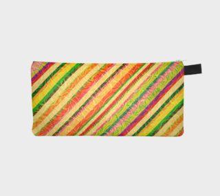 Colorful Stripes on Curls Pattern  aperçu