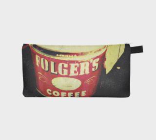 Aperçu de Vintage Coffee Time Pencil Case