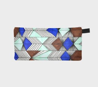 Geometric pencil case preview