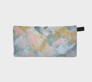 pink gold gray pencil case preview