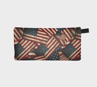 Patriotic Grunge-style American Flag  aperçu