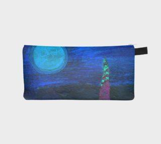 Midnight Landscape Pencil Case preview