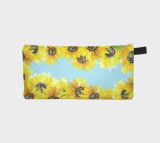 Aperçu de Sunflower Zip Pouch