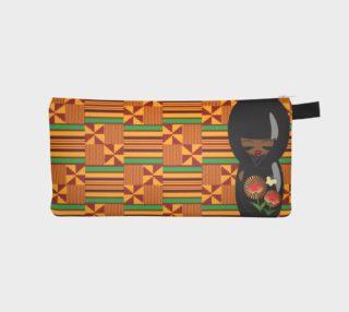 Aperçu de AfroPuff™ Khente Kokeshi Pencil Case
