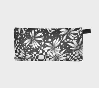 Floral Harlequin Polkadot Clutch/Wallet preview