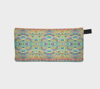 Abstract Hills Pattern Pencil Case preview