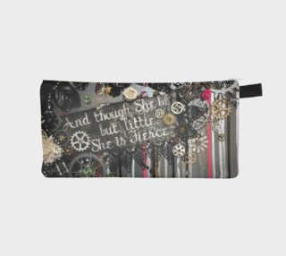 She is Fierce Zippered Pouch preview