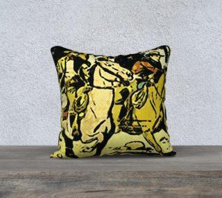 Western Pulp Art Pillow 13 (18x18) preview