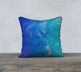 Aperçu de Blue I So Hope 18 x 18 Pillow Case
