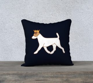 pup pillow navy preview