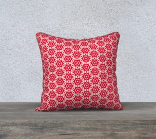 Merry & Bright Rosette 18x18 Pillow preview