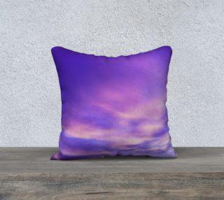 18x18 Purple Sunrise Pillow Case preview