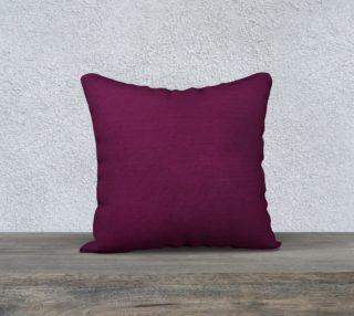 Just Purple Pillow Case 18x18 preview