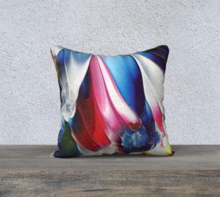 Blue Wing Pillow aperçu