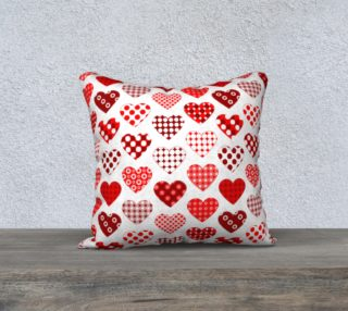 hearts in polka dots  preview