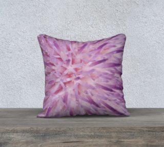Purple Bud Explosion Pillow Case 18x18 preview