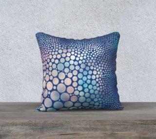 Dream Circles Indigo Pillow preview