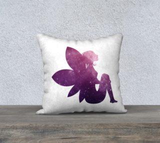 Purple Fairy 18 x 18 Pillow Case preview