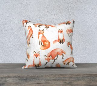 fox pillow preview